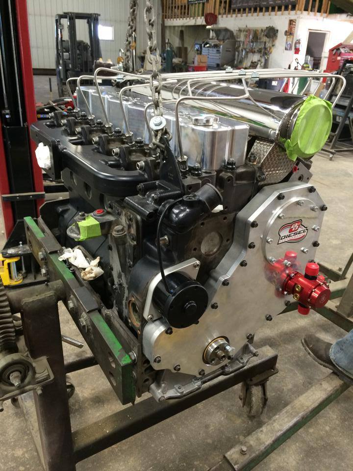 Cummins 12V Sled Pulling Engine