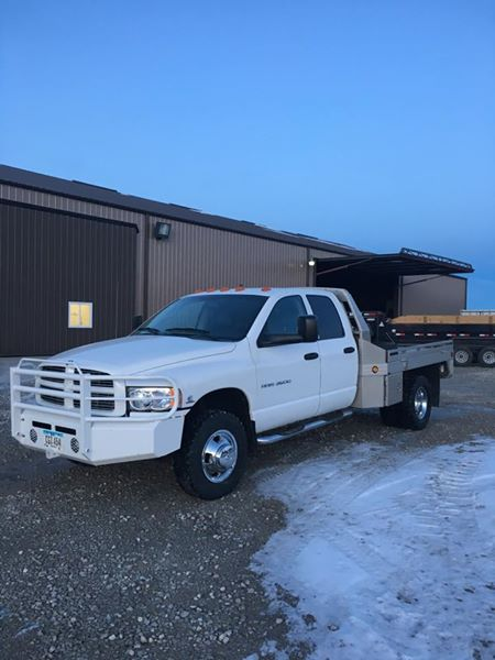 2003 Dodge Cummins Quad Flat Bed